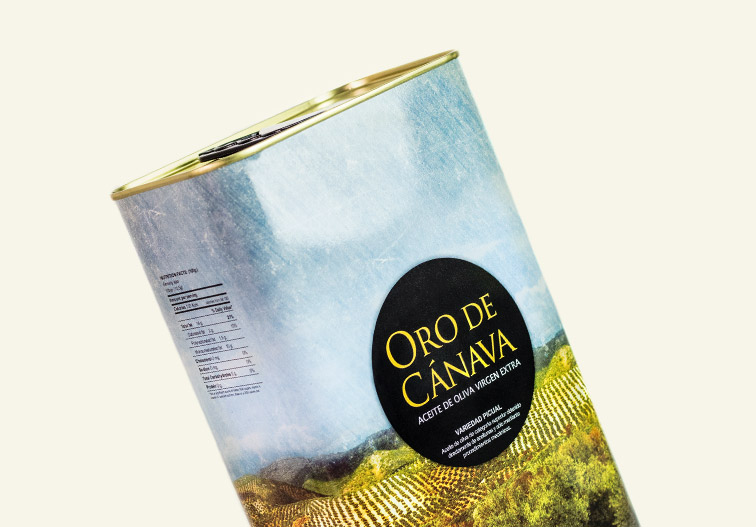 Oro de Cánava Olive Oil Can